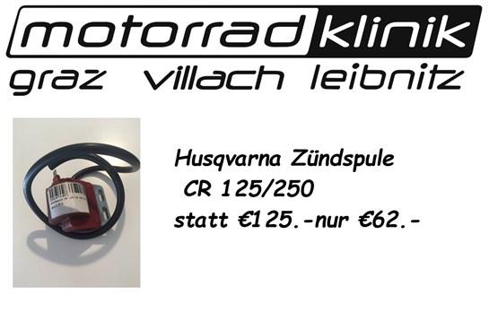 Husqvarna  Zündspule CR 125 / CR 250  statt € 125.- nur € 62.-