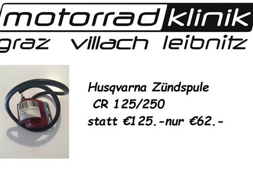 Zündspule CR 125 / CR 250 statt € 125.- nur € 62.-