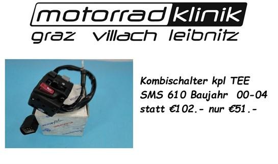 Husqvarna Kombischalter kpl TEE SMS 610 Baujahr  00-04 statt €102.- nur €51.-