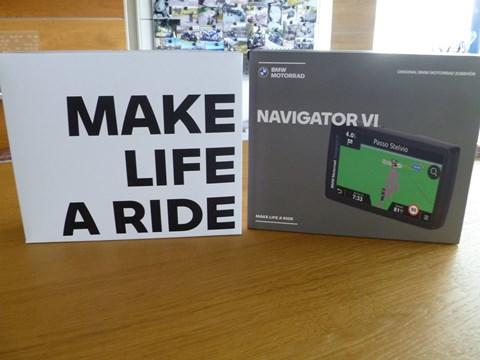 BMW Motorrad Navigator VI (ohne Mount Cradle)