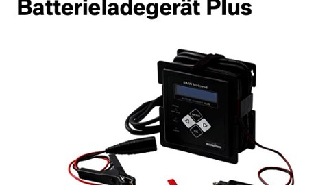 BMW Motorrad Batterieladegerät Plus