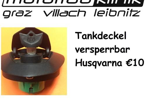 Tankdeckel versperrbar Husqvarna €10