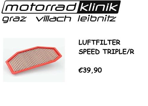 LUFTFILTER SPEED TRIPLE/R €39,90