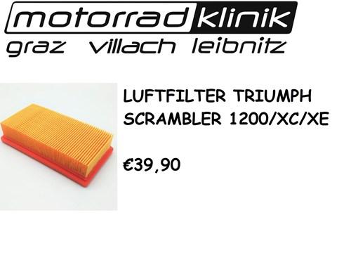 LUFTFILTER SCRAMBLER 1200/XC/XE €39,90