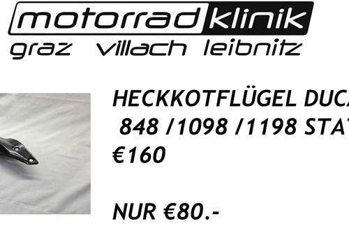 HECKKOTFLÜGEL 848 /1098 /1198 STATT €160 NUR €80.-
