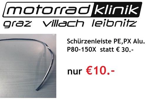 Schürzenleiste PE,PX Alu. statt € 30 nur €10 (P80-150X)