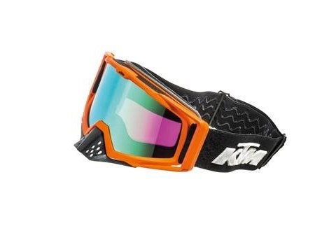 RACING GOOGLES ORANGE