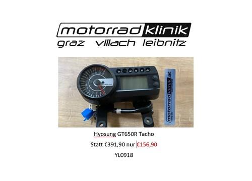 Tacho Hyosung GT650R statt €391,90,- nur €156,90