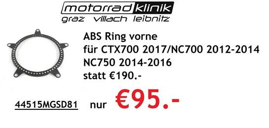 Honda ABS Ring vorne für CTX700 2017/NC700 2012-2014 /NC750 2014-2016 statt €190.- nur €95.-