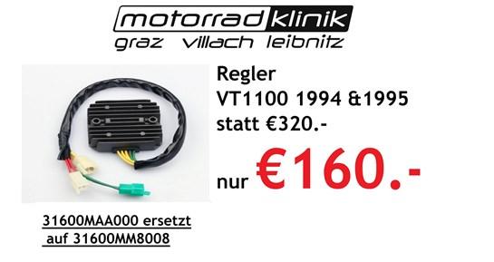 Honda Regler VT1100 1994 &1995 statt €320.- nur €160.-