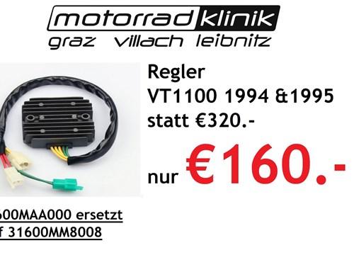 Regler VT1100 1994 &1995 statt €320.- nur €160.-