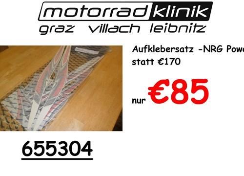 Aufklebersatz NRG Power in Silber statt €170 nur €85