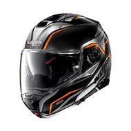 Klapphelm N100-5 Balteus N-Com 44 schwarz-grau-orange 3XL