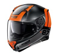 Integralhelm N87 P Distinctive N-Com 26 schwarz matt-orange S