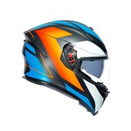 Integralhelm K-5 S Core matt-schwarz-blau-orange L