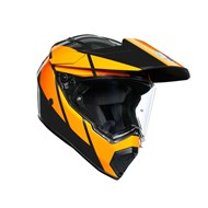 Endurohelm AX9 Trail schwarz-orange 2XS