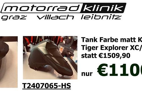 Tank Farbe matt Khaki grün für Tiger Explorer XC/XCA statt €1509,90 nur €1100
