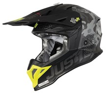 Motocrosshelm J39 Kinetic Grey
