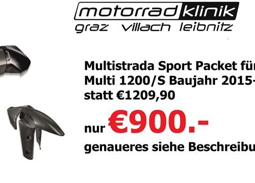 Multistrada Sport Packet für Multi 1200/S Baujahr 2015-2017 statt €1209,90 nur €900.- genaueres siehe Beschreibung