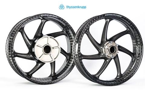 thyssenkrupp Carbon Components thyssenkrupp Carbon Felgensatz BMW S1000 R/RR, Style 1