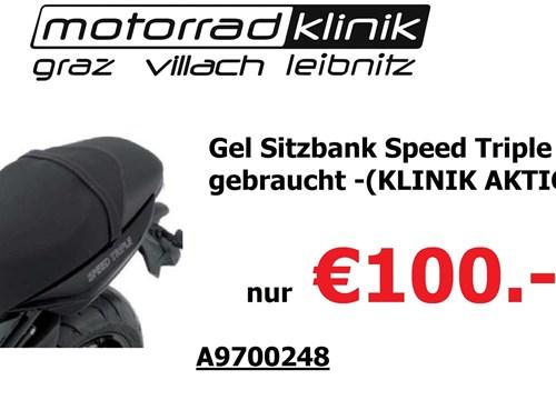Gel Sitzbank Speed Triple 2009 gebraucht (KLINIK AKTION ) nur €100.-