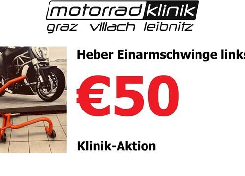 Heber Einarmschwinge links Klinik-Aktion €50.-