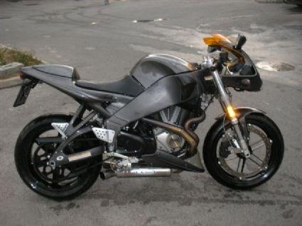 Umgebautes Motorrad Buell Lightning XB 12 S von