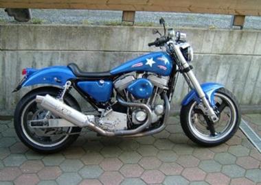 Gebrauchtmotorrad Harley-Davidson Sportster XL 1200