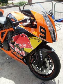 Umgebautes Motorrad KTM 1190 RC8 von Wuerger76 - 1000PS.at