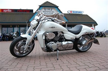 Umgebautes Motorrad Suzuki Intruder M1800R von Bike Ranch