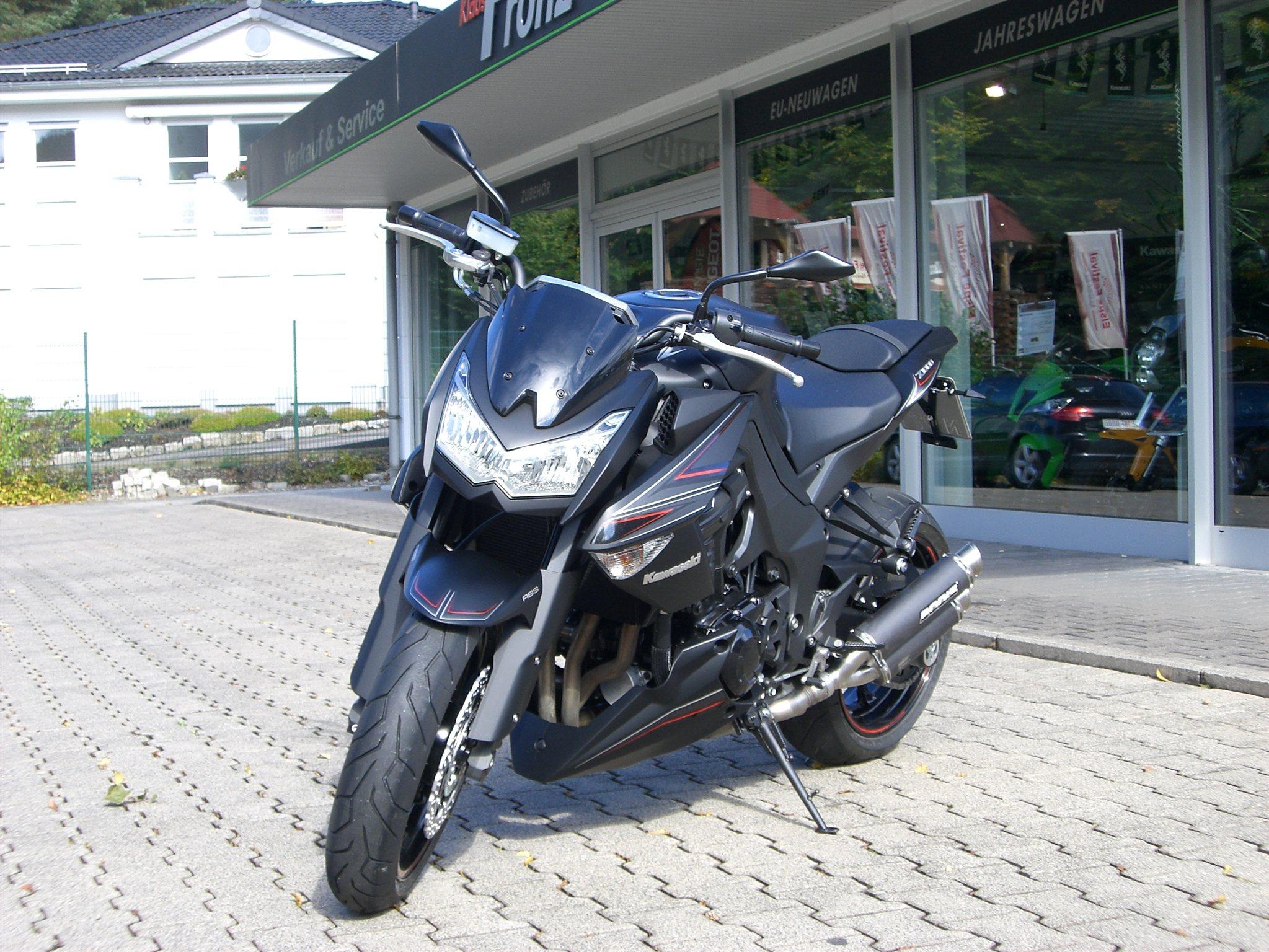 Umgebautes Motorrad Kawasaki Z1000 von BikerWorld Rosenow