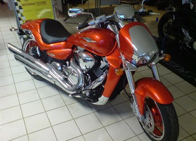 Suzuki VZR 1800 Ein wenig umgebaut