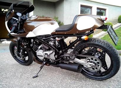 Umgebautes Motorrad Honda VF 500 F von Freithofnig - 1000PS.ch