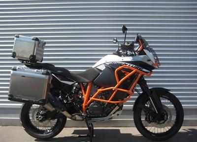 KTM 1190 Adventure R Stark umgebaut