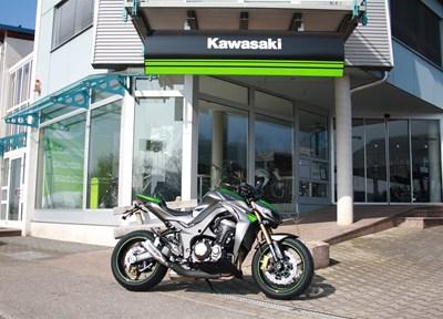 Kawasaki Z1000 Ein wenig umgebaut