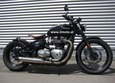 Triumph Bonneville Bobber Stark umgebaut