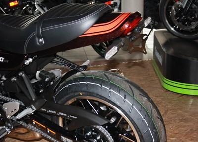 Kawasaki Z900RS Ein wenig umgebaut