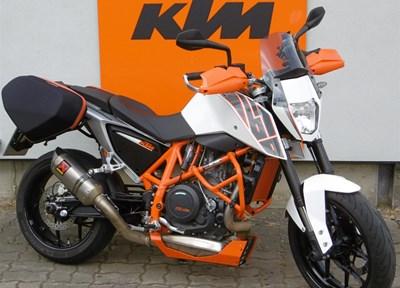 KTM 690 Duke Ein wenig umgebaut