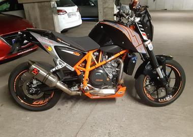 Gebrauchtmotorrad KTM 690 Duke