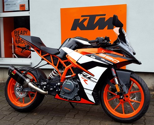 Umgebautes Motorrad Ktm Rc 390 Von Ktm Bernhardt 1000ps De