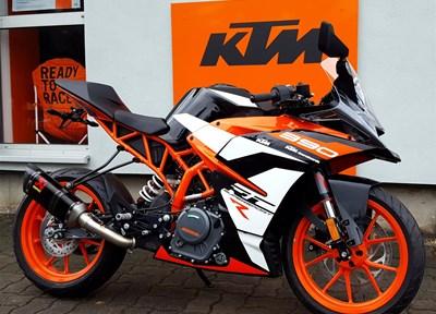 KTM RC 390 Ein wenig umgebaut
