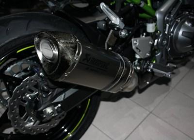Kawasaki Z900 Ein wenig umgebaut
