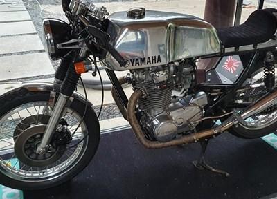 Yamaha XS 650 Komplettumbau