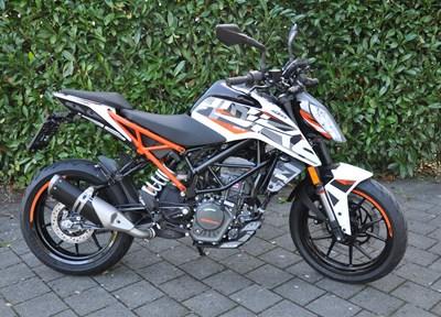 KTM 125 Duke Ein wenig umgebaut