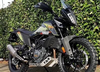 KTM 390 Adventure Stark umgebaut