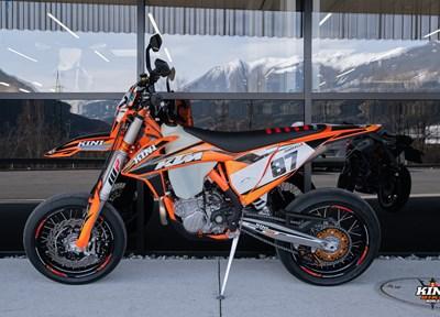KTM 500 EXC-F Sixdays Komplettumbau