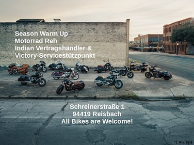 Motorrad Reh Season Warm Up! All Bikes are welcome!