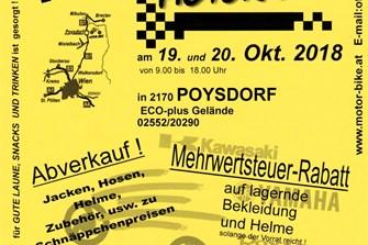 HERBSTPARTY bei MOTOR-BIKE in Poysdorf