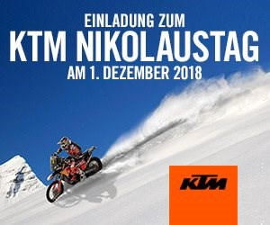 KTM Nikolaustag  KTM Nikolaustag: 01.12.18 - 9:00 Uhr - 15:00 Uhr