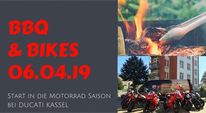 BBQ & BIKES III / DUCATI Kassel
